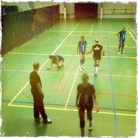 Photo taken at Sportcentrum 't Wooldrik by Henk Jan B. on 8/27/2011