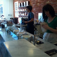 Photo taken at Boxcar Coffee Roasters by Toby K. on 3/29/2012