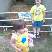 Photo taken at Baughers Petting Zoo by Cassie A. on 5/26/2012