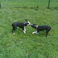 Photo taken at Town and Country Dog Park by Bre S. on 5/20/2011