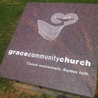Photo taken at Grace Community Church by jblazenboy on 5/6/2012