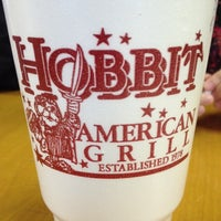 Photo taken at Hobbit American Grill by Jeffrey G. on 12/20/2011