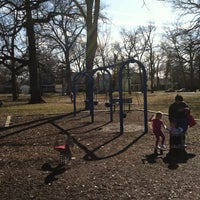Photo taken at Brevoort Park by Todd C. on 3/12/2011
