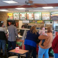 Photo taken at Subway by Shawn D. on 12/22/2011