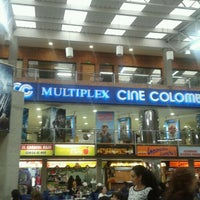 Photo taken at Cine Colombia by Julie G. on 1/6/2012