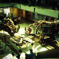 Photo taken at Dinosaur Hall by Micah S. on 9/3/2011