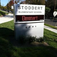 Photo taken at Stoddert Elementary School by Rob P. on 10/7/2011