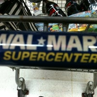 Photo taken at Walmart by Juliana C. on 10/16/2011