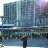 Photo taken at Staten Island Ferry Boat - Spirit Of America by Sydney E. on 11/19/2011