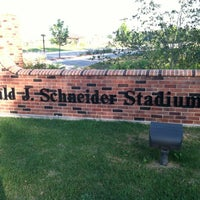 Photo taken at St. Norbert College Donald J. Schneider Stadium by David on 7/23/2012
