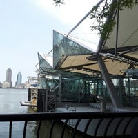 Photo taken at NY Waterway Ferry - World Financial Center Terminal by Brett H. on 6/11/2012