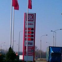 Photo taken at Lukoil by Mariusz R. on 11/9/2011