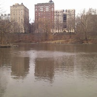 Photo taken at Central Park - The Pool by Jeff R. on 1/14/2012