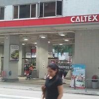 Photo taken at Caltex 加德士 by Chris C. on 8/28/2011