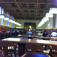 Photo taken at Doheny Memorial Library (DML) by Muhammad M. on 10/25/2011