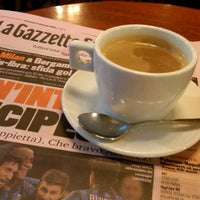 Photo taken at Bar Vittoria by Bob C. on 1/8/2012