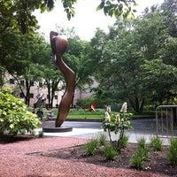 Photo taken at Sculpture Garden - Art Institute of Chicago by Noah P. on 7/7/2011