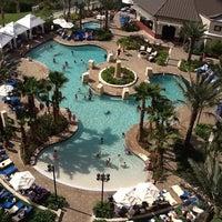 Photo taken at Wyndham Grand Orlando Resort-Bonnet Creek by Felicia B. on 3/30/2012