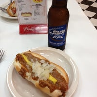Photo taken at American Coney Island by austin g. on 9/6/2012