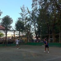 Photo taken at Sta. Ignacia Tennis Court by Edison V. on 3/14/2012