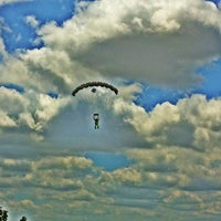 Photo taken at Skydive Temple by Austin P. on 5/12/2012