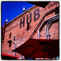 Photo taken at Hub by Alexis on 4/6/2012