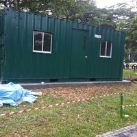 Photo taken at Bishan Park Site Office for River Redevelopment by Farid MjM P. on 8/6/2012