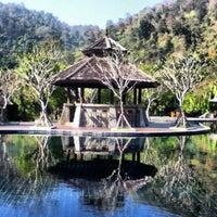 Photo taken at Sibsan Resort & Spa Maetaeng by Jack B. on 2/13/2012