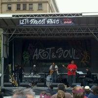 Photo taken at Oakland Art & Soul by Abiud A. on 8/4/2012