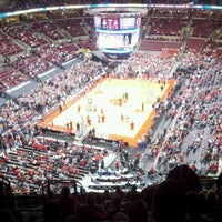 Photo taken at Value City Arena - Jerome Schottenstein Center by Greg B. on 2/26/2012