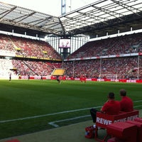 Photo taken at RheinEnergieStadion by Two Beers on 8/12/2012