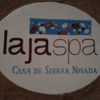 Photo taken at Laja Spa by Sha P. on 3/8/2012