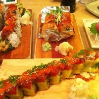 Photo taken at Sushi House by Cindy N. on 4/24/2012