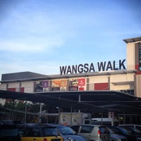 Photo taken at Wangsa Walk Mall by Mj A. on 4/27/2012