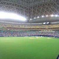 Photo taken at Nagoya Dome by daiki0530 on 8/28/2012
