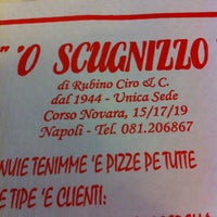 Photo taken at Ristorante Pizzeria 'O Scugnizzo by Rosario T. on 2/21/2012