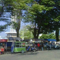 Photo taken at Masjid Agung by Dian T. on 7/12/2012