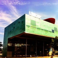 Photo taken at Peckham Library by Nick M. on 8/19/2012