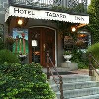 Photo taken at Tabard Inn by Heidi M. on 8/18/2012