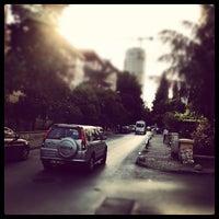 Photo taken at Ethem Efendi Caddesi by Mustafa B. on 6/5/2012