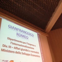 Photo taken at Camera di Commercio di Parma by Alberto E. on 4/23/2012