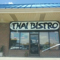 Photo taken at Nu Thai Bistro by Ty V. on 7/31/2012