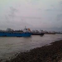 Photo taken at patenga Beach by Zico S. on 6/15/2012