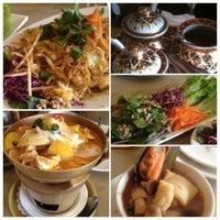 Photo taken at Amarin Thai Restaurant by Jessica T. on 5/14/2012