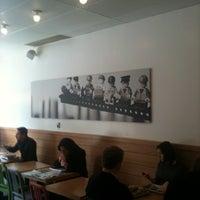 Photo taken at Hubbub Sandwiches by BornUpNorth on 3/16/2012