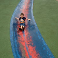 Photo taken at Frick Park Blue Slide Playground by Chuck M. on 3/24/2012