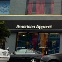 Photo taken at American Apparel by Karlyn F. on 9/6/2012