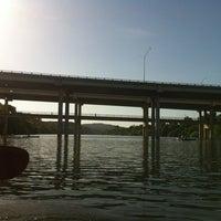 Photo taken at Lady Bird Lake Under Mopac Bridge by Linzeta S. on 7/20/2012