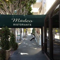 Photo taken at Madeo Restaurant by Simone F. on 8/7/2012