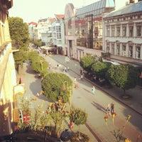 Снимок сделан в Стометровка пользователем Rostyslav T. 7/27/2012
